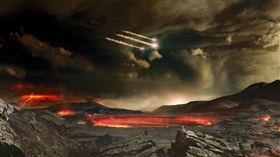 TNT,NASA,小行星,Bennu,美國太空總署,班努,地球.Hammer,撞擊,軌跡 圖/翻攝自YouTube https://goo.gl/NmNF7d