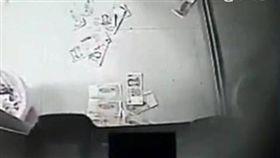 提款機,故障,ATM,噴錢,鈔票,大陸,浙江,寧波 圖/翻攝自看看新聞