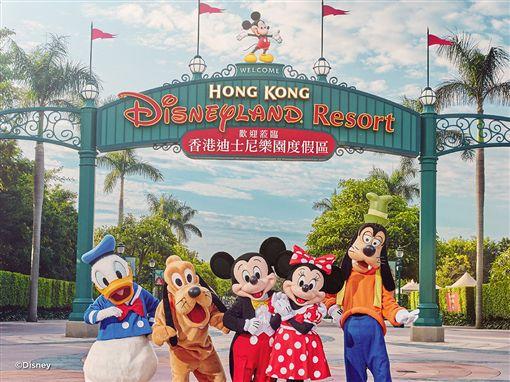 香港迪士尼樂園。(圖/國泰提供)