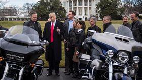 Harley-Davidson因川普政策遭受歐盟報復。(圖/翻攝washingtonpost網站)