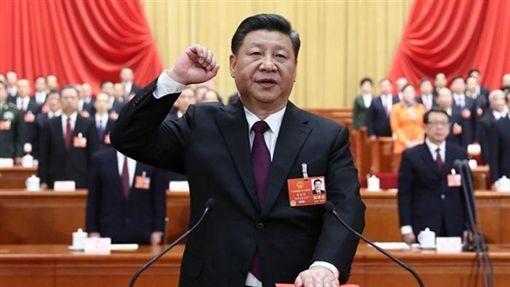 習近平,今(20)日在第13屆全國人大第一次會議的閉幕會上發表長篇演說/新華網 ID-1288724