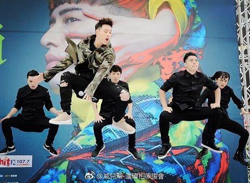 唱跳俱佳的潘帥,下個月將舉辦世界巡迴演唱會。(圖/翻攝自IG)