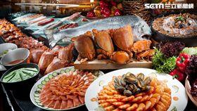 漢來海港自助餐,吃到飽,Buffet。(圖/EZTABLE提供)