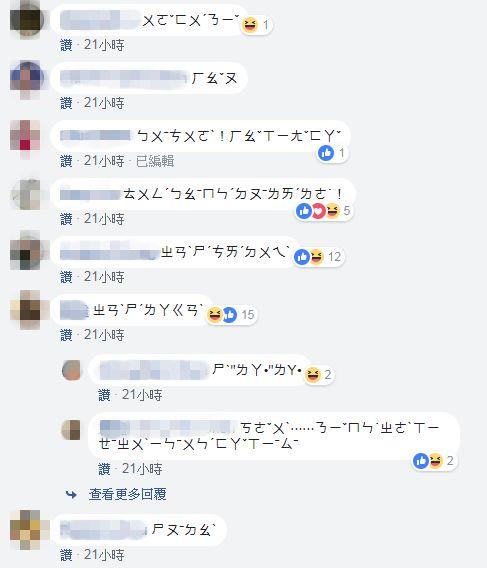 社團成員發起「注音文運動」反擊大陸網軍。(圖/翻攝台灣人在歐洲 Taiwanese in Europe臉書)