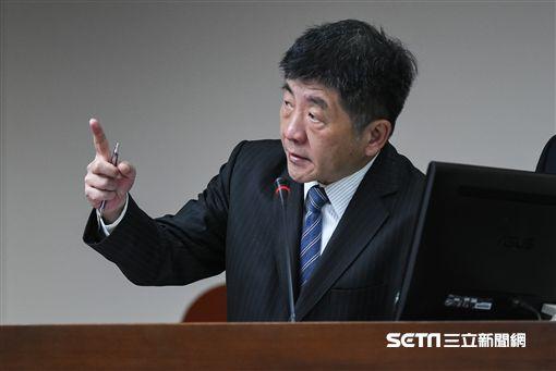 衛福部長陳時中。 圖/記者林敬旻攝