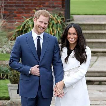 哈利王子與未婚妻梅根馬克爾將在5月舉行婚禮,兩人選定婚禮蛋糕。(圖/翻攝twitter)