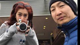 劉奕兒與洪天祥戀情穩定,見過雙方父母。(圖/翻攝自臉書)