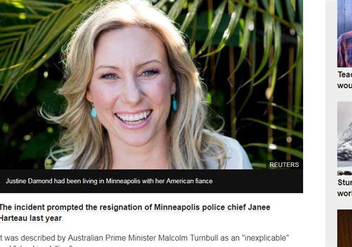 員警,誤殺,槍殺,開槍,抗議,未婚妻,監禁,報警,美國http://www.bbc.com/news/world-australia-43480859