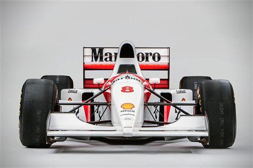 McLaren MP4/8A。(圖/翻攝Bonhams網站)