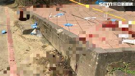 滿地鮮血…新店空軍公墓 8旬老翁遭砍10多刀送醫