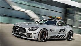 Mercedes-AMG GT R安全車。(圖/翻攝Mercedes-Benz網站)