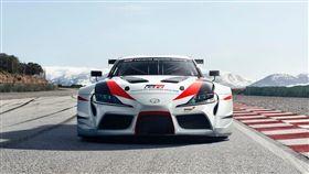 GR Supra概念賽車。(圖/翻攝Toyota網站)