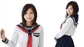 女學生水手服(圖/翻攝自亞馬遜)