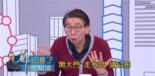 柯文哲,姚立明,50萬,尚毅夫,薪資,鄭.知道了 圖/翻攝自YouTube