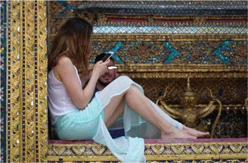 泰國,寺廟,觀光客,拍照,文化,陽台 圖/翻攝自prachachat