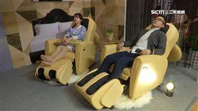 時尚又好用!按摩椅與沙發結合 一年商機上看50億 業配