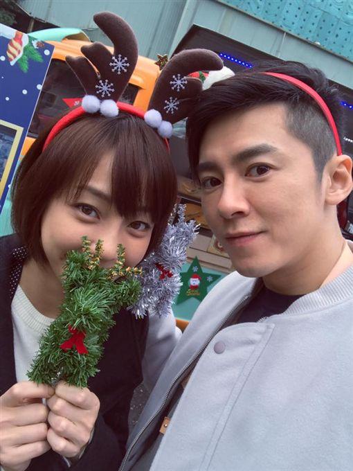 ▲李國毅與謝欣穎攜手演出《1006的房客》。(圖/翻攝自臉書)