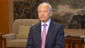中國駐美大使崔天凱/中國駐美國臉書