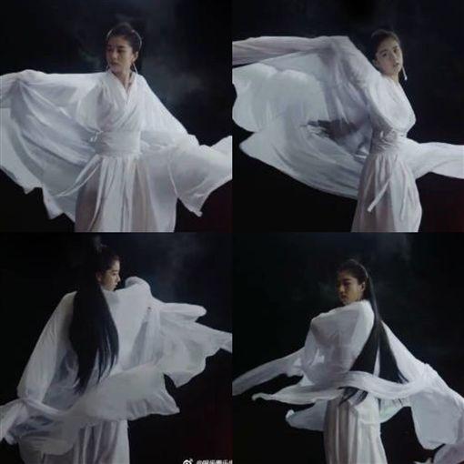 李凱馨 小龍女/翻攝自微博