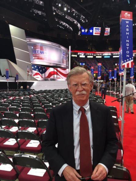 美國國家安全顧問約翰波頓,John Bolton_推特https://twitter.com/AmbJohnBolton/media