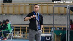 ▲中華男足總教練Gary White。(圖/記者蔡宜瑾攝影)