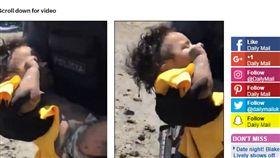 員警,女嬰,媽媽,精神病,河床,失控,巴西,嬰兒,泥巴 http://www.dailymail.co.uk/news/article-5526585/Baby-survives-thrown-118ft-bridge-MOTHER-Brazil.html