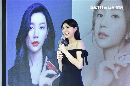 郭雪芙出席美妝品牌全新唇膏發表派對
