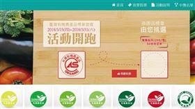 有機農產品標章投票(圖/翻攝自農糧署投票官網)http://18.219.27.55/