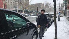 美國,紐約,下雪,計程車,車資 圖/翻攝自世界日報