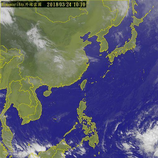 熱帶低壓構成 最快明加強為第3號「鯉魚」颱風氣象局