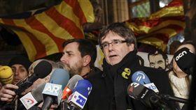 普伊格蒙特涉及加泰隆尼亞獨立運動,西班牙當局發出國際逮捕令。(圖/翻攝twitter)