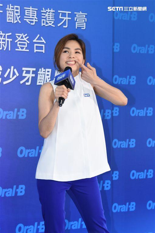 Ella陳嘉樺出席牙膏新品發表會