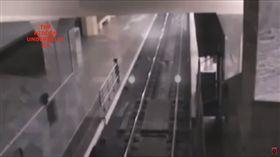 靈異畫面,超自然現象,YOUTUBE,影片,內蒙古,火車站,幽靈列車 圖/翻攝自YouTube