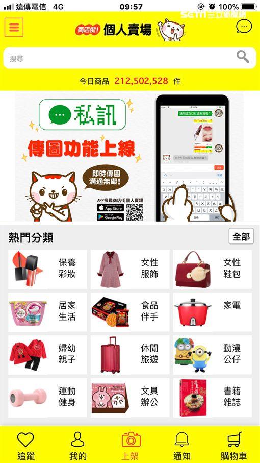 商店街,個人賣場,私訊,黃淑琳,C2C,網購,電商