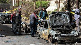 埃及第二大城市亞歷山大港(Alexandria)遭汽車炸彈攻擊(圖/翻攝自推特)