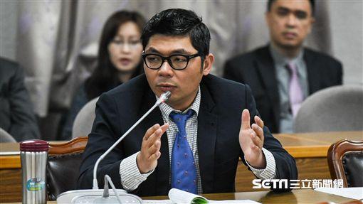 國民黨立法委員許毓仁。 圖/記者林敬旻攝