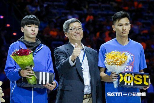 ▲UBA,大專籃球聯賽,頒獎典禮,新人王。(圖/記者蔡宜瑾攝影)