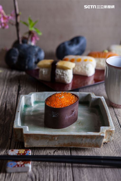 壽司蛋糕。(圖/台北神旺大飯店提供)