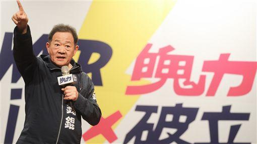李錫錕宣布投入台北市長選舉(1)台大教授李錫錕25日在台北舉辦「POWER感謝祭」與粉絲互動,會中也正式宣布將以無黨籍身分參選台北市長,並發表「松山機場特區」的政策理念。中央社記者裴禛攝 107年3月25日