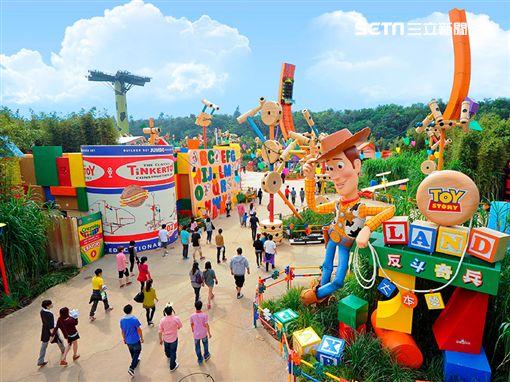 香港迪士尼樂園,玩具總動員。(圖/易遊網提供)