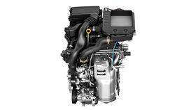 Toyota 1.0三缸引擎。(圖/翻攝Toyota網站)