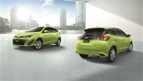 4月2日發表上市!小改款Toyota Yaris。(圖/車訊網)
