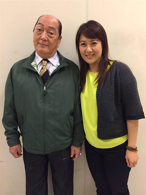 ▲林姿佑的爸爸也是資深藝人林照雄(左)。(圖/翻攝自林姿佑臉書)