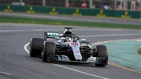 Lewis Hamilton最終奪下亞軍。(圖/Mercedes-Benz提供)