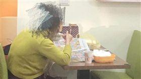 禁帶外食,奧客,大媽,早餐店,厚臉皮,爆怨公社 圖/翻攝自臉書爆怨公社