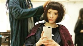 蕭淑慎剪短髮回春。(圖/翻攝自臉書)