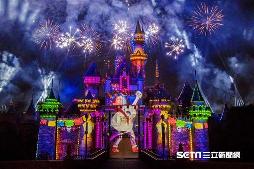 加州迪士尼,皮克斯慶典。(圖/迪士尼提供)
