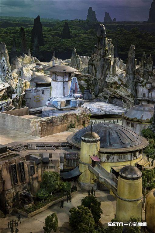 迪士尼星際大戰園區,加州迪士尼,奧蘭多迪士尼。(圖/迪士尼提供)