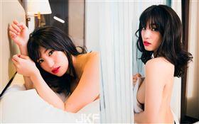 「AV救世主」封號的超級巨星高橋聖子拍攝JKF四月份雜誌封面,宣布將出席TRE台北國際成人展Taipei Red Expo 圖/JKF提供