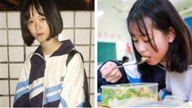 「不能沒有家」!大陸國中正妹陳羽楊3餐吃肥肉 暴肥6公斤只為救爸爸(圖/翻攝自秒拍)